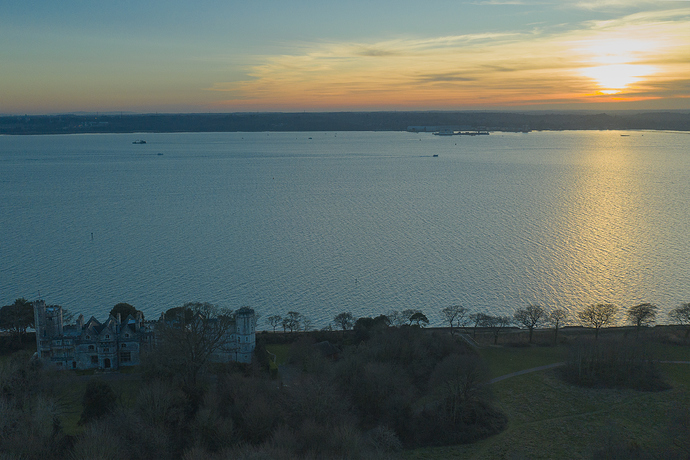 DJI_0301Netley%20Castle%20at%20sunset