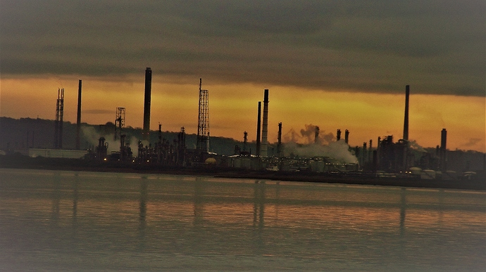 Industry on the Mersey