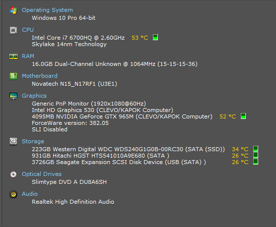 Davinci Resolve system spec query - Questions & Answers - Grey